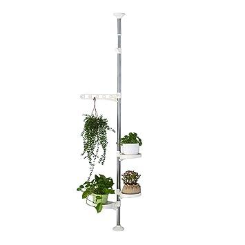 support de plantes dintrieur baoyouni support pour pots de fleurs en acier