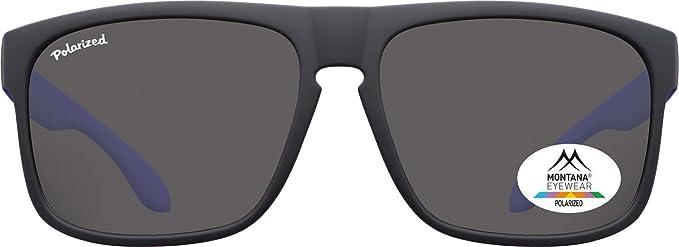 Montana Gafas de sol Sunoptic MP37A en negro incluyendo ...