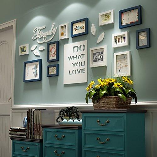 Bilderrahmen Collage Brief pastoralen schlafzimmer wohnzimmer ...