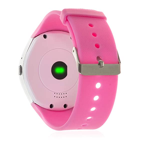 TEKKIWEAR. DMX064WHPNK. Smartwatch Y1 Plus con Asistente De Voz ...
