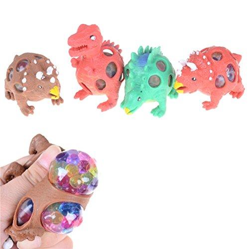 Price comparison product image Toner Depot Set of 3 Mesh Dinosaur Squeeze Stress Ball - Sensory,  Stress