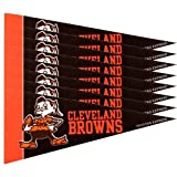 Cleveland Browns NFL Mini Pennant Set (8)