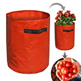 BenefitUSA Tomato Grow Bag Garden Planter Bag for Vegetables Flowers Container Tub (2)