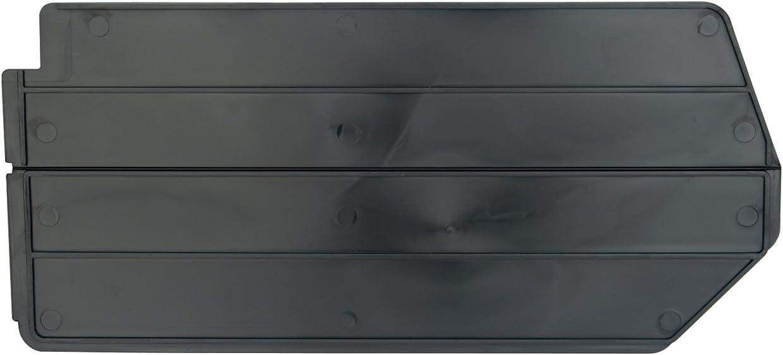 Akro-Mils 40270 Lengthwise Divider for 30270 AkroBin, Package of 6, Black