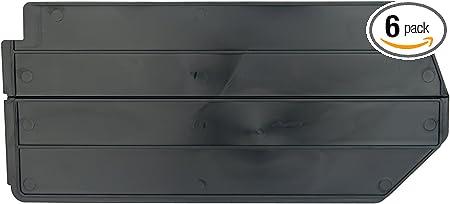 NEW Akro Mils 40210 Lengthwise Divider for 30210 AkroBin Black 6 Pack SHIPS FREE