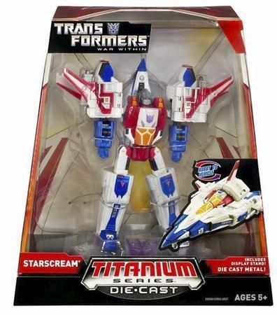 Hasbro Titanium Series Transformers 6 Inch Metal Cybertron Starscream