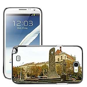 Just Phone Cover Etui Housse Coque de Protection Cover Rigide pour // M00140044 Ucrania Lviv Taras Shevchenko Poeta // Samsung Galaxy Note 2 II N7100
