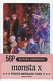 K-POP Group 2019 New Photo Message Card 56pcs set