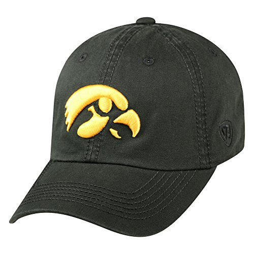 - Top of the World Iowa Hawkeyes Men's Hat Icon, Black, Adjustable