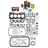 Evergreen Engine Rering Kit FSBRR4014\2\0\0 92-96 Honda Prelude DOHC H23A1 Full Gasket Set, Standard Size Main Rod Bearings, 0.50mm / 0.020
