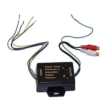 Mazur Amplificador de Audio para automóvil/subwoofer Alto a bajo convertidor