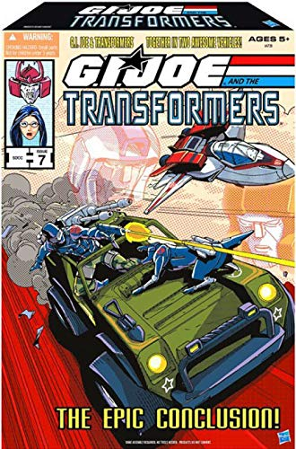 The Epic Conclusion GI Joe and Transformers SDCC 2013 ComicCon Exclusive Set]()