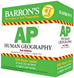 Barron's AP Human Geography Flash Cards, 2nd Edition, Meri Marsh and Peter Alonga, 1438001347