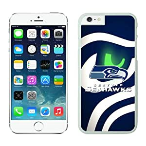 Iphone 6 Cover Case Seattle Seahawks iPhone 6 5.5 Inches Cases 21 White TPU Protective Phone Case