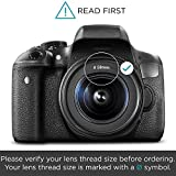 58MM Complete Lens Filter Accessory Kit for CANON EOS Rebel T6i T6 T5i T5 T4i T3i SL1 DSLR Camera