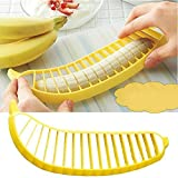 ♛Euone Banana Slicer ♛Clearance♛, Practical Banana Cutter Fruit Slicer Chopper Chic Kitchen Gadgets Tools