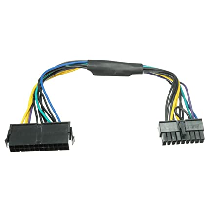 TOOGOO(R) ATX 24pin to Motherboard 18pin Adapter Power Supply Cable 18AWG  for HP Z420 Z620
