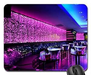 Perfecto para luces de neón en una night club Wondrous alfombrilla para ratón, Mousepad