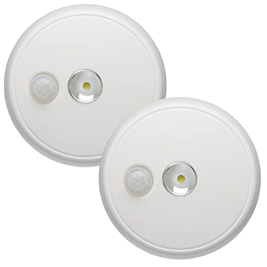 Mr. Beams MB982 Wireless Battery Operated Indoor/Outdoor Motion Sensing LED Ceiling  Light,
