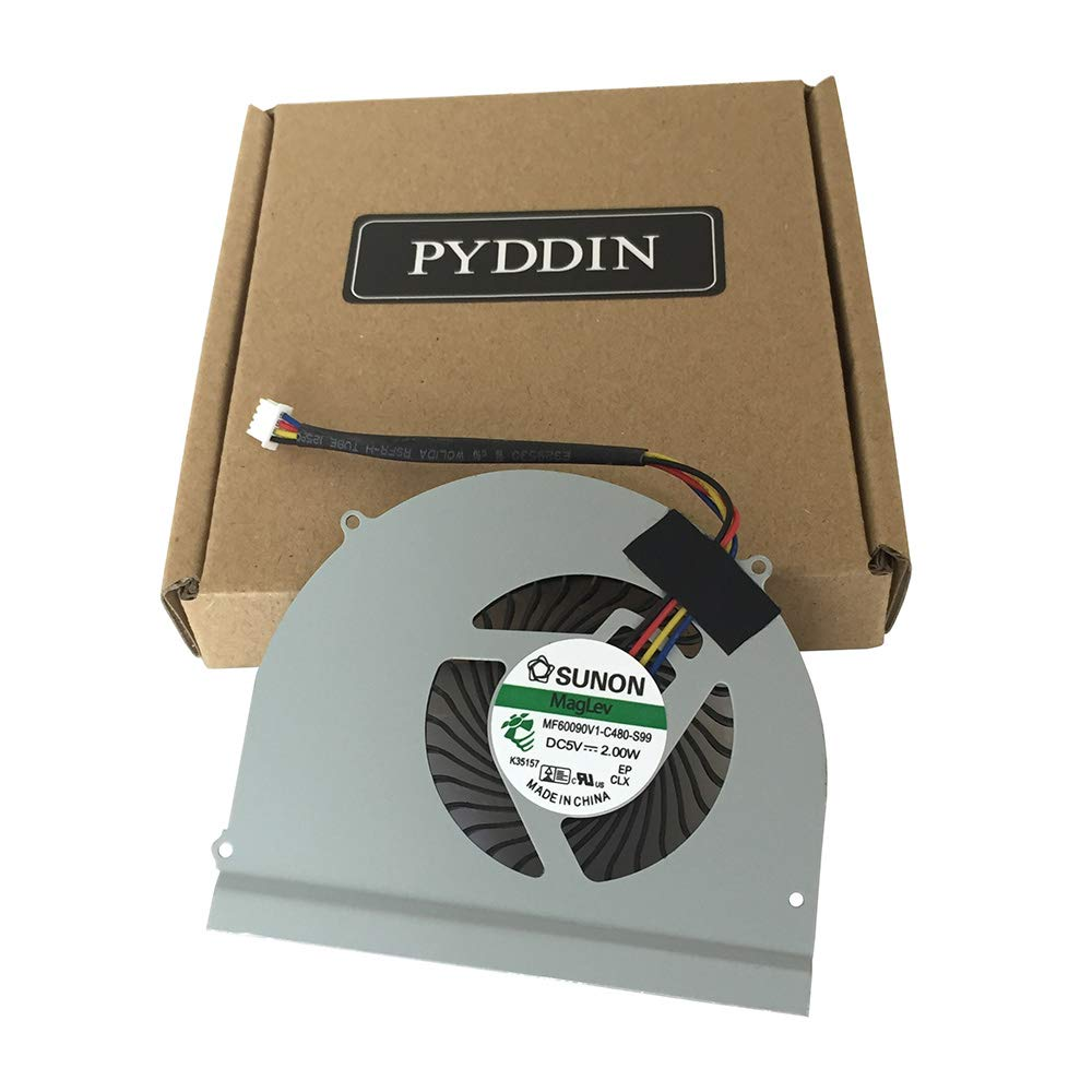 PYDDIN Laptop CPU Cooling Fan Cooler for Dell Latitude E6530 P/N: 0M2CFG M2CFG MF60120V1-C450-G9A MF60120V1-C440-G9A