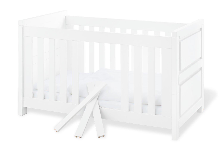 Pinolino 113424 Kinderbett 'Milk', weiß