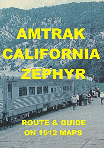 Amazon.com: AMTRAK CALIFORNIA ZEPHYR: ROUTE MAPS eBook: D C ... on california tourist map, california northern railroad map, california waterfalls map, japan bullet train map, northern california train map, california train vacations, california high speed train map, california railway map, california amusement parks map, california train map freight tracking, ca bullet train map, california layout map, california missions map by train, california bullet train,