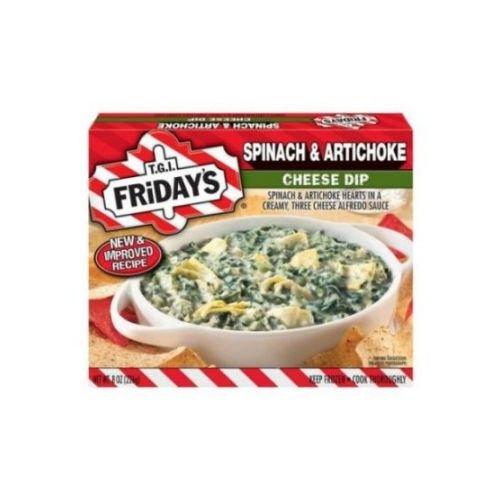 Tgi Fridays Spinach and Artichoke Cheese Dip, 8 Ounce -- 8 per case.