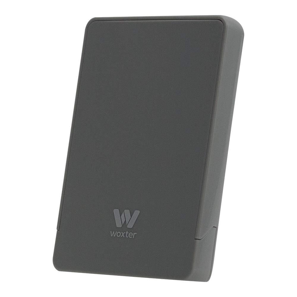 Woxter Caja I-CASE 230 T - Carcasa para disco duro 2.5' (Controladora USB 3.0), color plata CA26-012