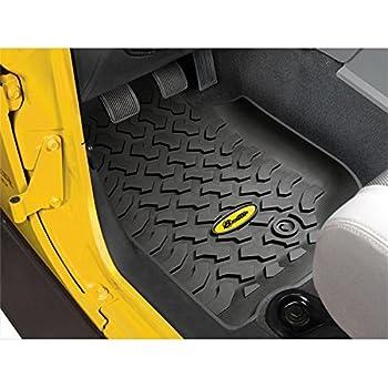Amazon Com 2007 2013 Jeep Wrangler 4door Front And Rear Slush Mats