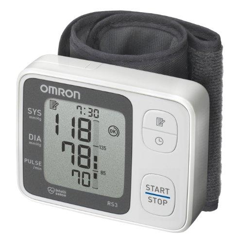 Omron RS3 Elektronisches Blutdruckmessgerät für das Handgelenk