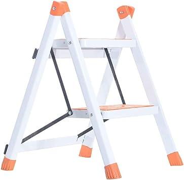 X-L-H Metal plegable Escaleras de seguridad de 2 peldaños Ascendentes Taburetes de cocina portátiles Inicio Escalera de tijera Herramientas de jardín (Tamaño : C): Amazon.es: Bricolaje y herramientas