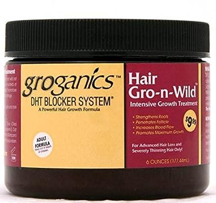 groganics bloqueador de DHT sistema pelo gro-n-wild * * tratamiento intensivo de