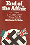 The End of the Affair, Eleanor M. Gates, 0520042921