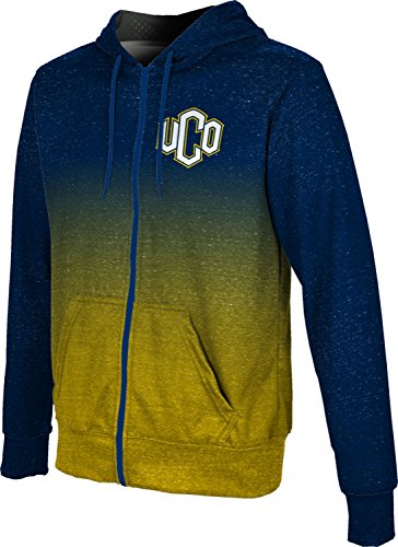 ProSphere University of Central Oklahoma Men's Full Zip Hoodie - Ombre FCF81 from ProSphere