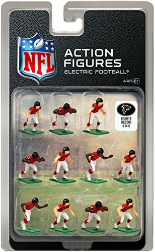 Atlanta Falcons Home Jersey NFL Action Figure Set – Sports Center Store