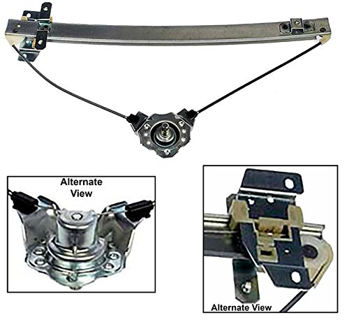 APDTY 850802 Window Regulator Manual Non-Powered Hand Crank Type (Does Not Include Handle) Fits Front Right (Passenger Side Front) 1991-1998 Suzuki Sidekick 4 Door (Replaces 83410-56B00, 8341056B00) ()