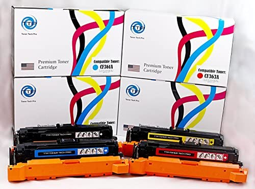 HP 508A CF360A BLACK COMPATIBLE M552dn  M553dn MFP M577 c NON GENUINE SEALED
