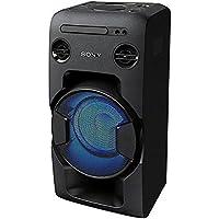 Aparelho de Som Sony MHC-V11 com Bluetooth/Leitor de CD/Entrada USB/ 2 V - Preto