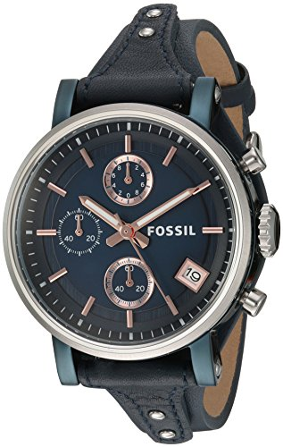 Fossil-Womens-ES4113-Original-Boyfriend-Sport-Chronograph-Blue-Leather-Watch