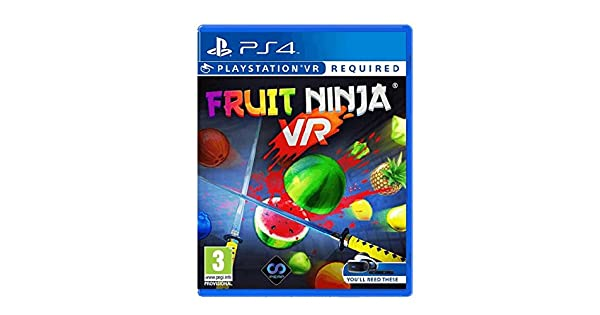 Amazon.com: Fruit Ninja (PS4 VR): Video Games