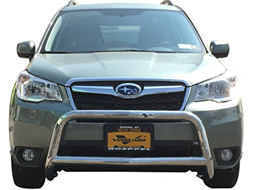 VANGUARD Off Road VGUBG-1111-1155SS For Subaru Forester 2014-2019 Bumper Guard Stainless Steel Sport Bar -