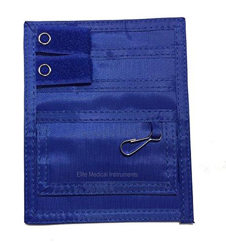 Elite Medical Instruments EMI Scrub Pocket Nylon Organizer (EAO-314-RB), Royal (Medical Organizer)