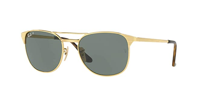 527ed70800 Ray-Ban Signet Sunglasses (RB3429) Gold Green Metal - Polarized - 58mm
