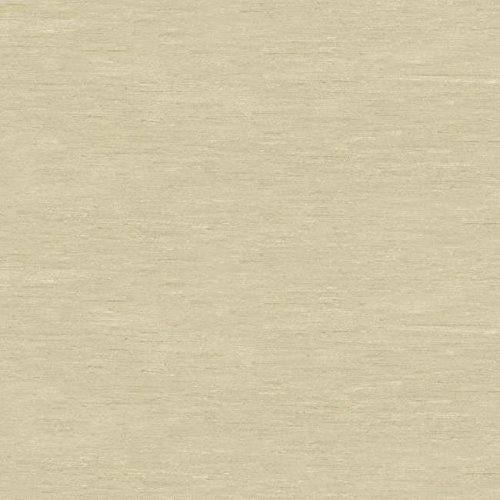 York Wallcoverings Silver Leaf II Symphony Silk Beige and Taupe and Cream Wallpaper