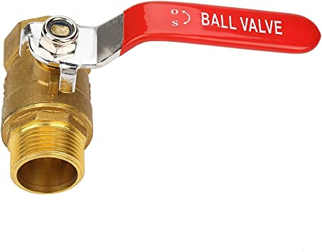 Brass BSP Ball ValveFemale to Female ThreadConnector Pipe Fittings Tubing