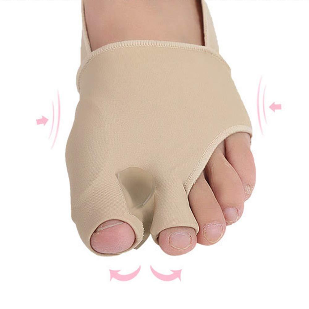 Bunion Correctors for Women - Bunion Pads for Bunion Relief - Bunion Splint Toe Separators Spacers Straighteners for Hallux Valgus (L)