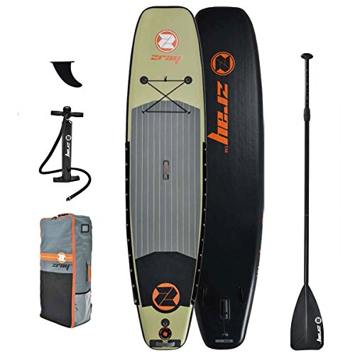 Z-Ray FS7 11' Deluxe Fishing Stand Up Paddle Board Package