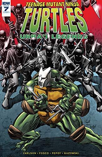 Amazon.com: Teenage Mutant Ninja Turtles: Urban Legends #7 ...
