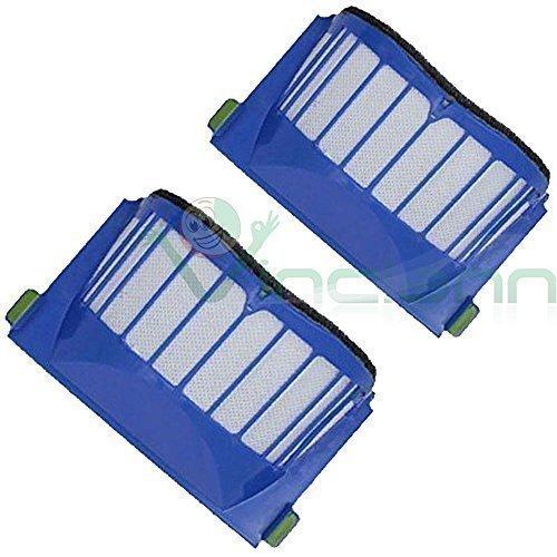 2X Filtro AERO VAC blu per aspirapolvere iRobot Roomba serie 630 650 660 600 610 620 filtri Vinciann