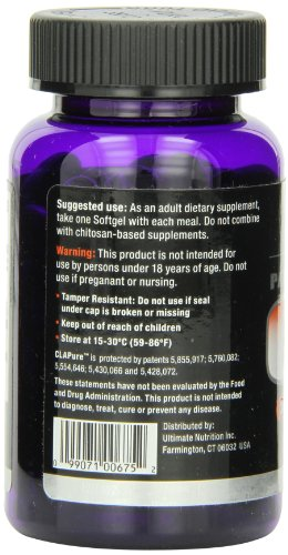 Ultimate Nutrition – CLA PURE 90 Gels 1000mg